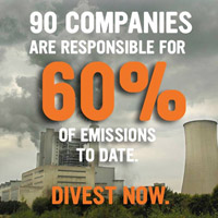 90 companies are responsible for 60% of emissions to date