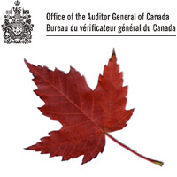 Auditor General logo and leaf