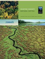 Counting Canadas natural capital report cover