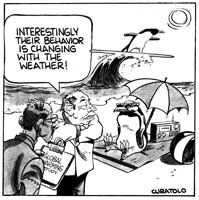 Fred Curatolo Climate change cartoon