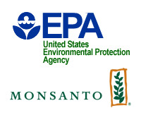EPA and Monsanto logo