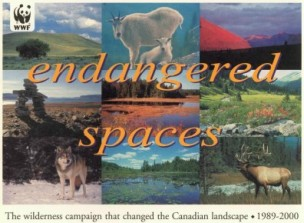 WWF Endangered Spaces Book Cover