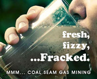 frack water