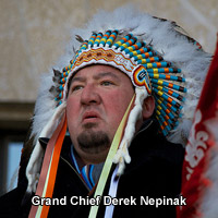 Photo of Grand Chief Derek Nepinak