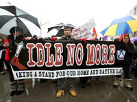 Idle No More: Making a Stand