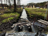 Mayflower, Arkansas after oil spill