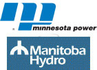 Minnesota Power logo and Manitoba Hydro logo