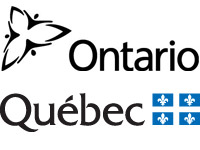 Ontario and Quebec logo