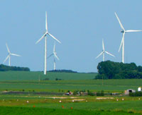 St. Leon Wind Turbines