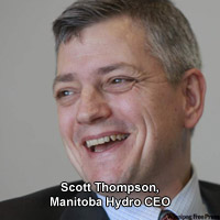 Manitoba Hydro CEO Scott Thompson