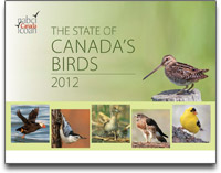 State of Canada's Birds report cover