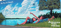 Manitoba Hydro 2007 mural