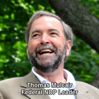 Thomas Mulcair Federal NDP Leader