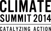 United Nations Climate Summit 2014 logo