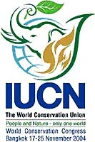 IUCN World Conservation Congress 2004 logo