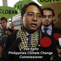Photo of Yeb Sano, Philippines Climate Change Commissioner