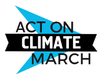 Act on Climate March logo