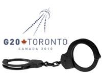 G20 logo and cuffs