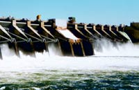 Photo of a hydroelectric dam