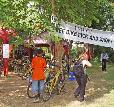 Bali free bike racks