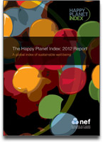 Happy Planet Index report cover