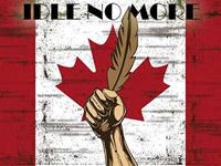 Idle No More flag