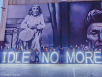 Idle No More: Lights