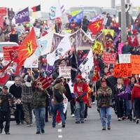 Idle No More walk