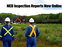 NEB inspection reports online
