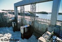 Hydro spillway