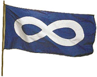 Metis nation flag
