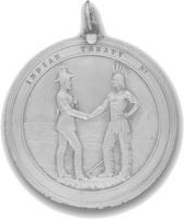 MB Treaty medal