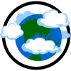 cloudy earth