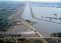 floodway in 1997 flood