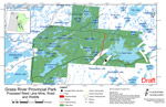 Grass River Provincial Park: Proposed Road, Wildlife and Protected Areas