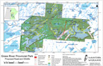 Grass River Provincial Park: Proposed Road and Wildlife