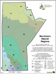 Natural Regions Representation Manitoba Map - 2007