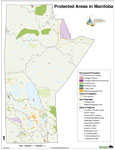 Protected Areas Manitoba Map - 2007