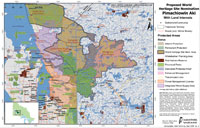Proposed World Heritage Site Nomination - Pimachiowin Aki With Land Interests Map