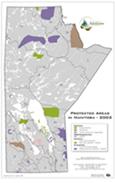 Protected Areas Manitoba Map - 2002