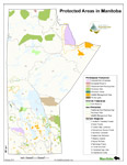 Protected Areas Manitoba Map - 2012