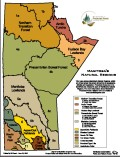 Natural Regions Manitoba Map - 2001